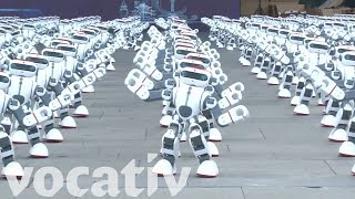VIDEO: Massive Robot Dance Party