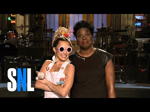 Saturday Night Live 41.01 (Preview 'Miley Cyrus & Leslie Jones')