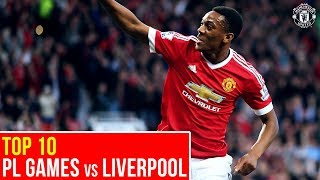 Video Top Ten Manchester United PL Matches v Liverpool | Premier League MP3, 3GP, MP4, WEBM, AVI, FLV Juni 2019