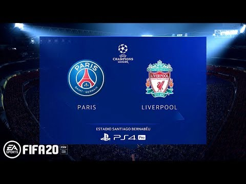 FIFA 20 Demo | Paris Saint-Germain Vs. Liverpool