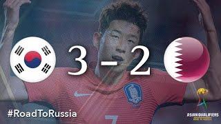 Korea Republic vs Qatar (Asian Qualifiers - Road to Russia)