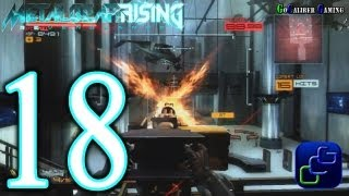 Metal Gear Rising: Revengeance Walkthrough - Part 18 - Chapter File R-04: Hostile Takeover