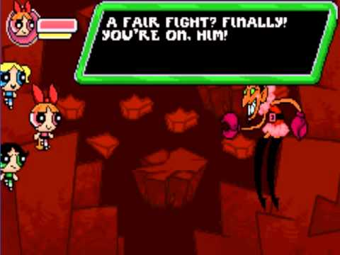 The Powerpuff Girls : Him and Seek GBA