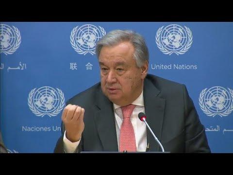 António Guterres (Secrétaire général des Nations Unies) discute de la dépénalisation au Portugal