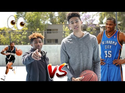 QUICKEST 1v1 BASKETBALL GAME EVER! vs. PontiacMadeDDG