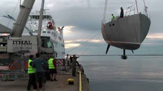Journeyman 60 - Launch and First Sail