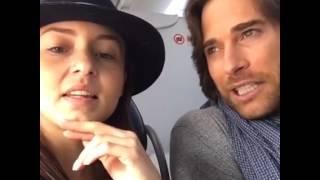 Angelique Boyer en #Facebook con Sebastian Rulli 14.11.2016