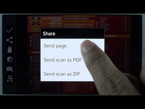 Video of Mobile Doc Scanner (MDScan)