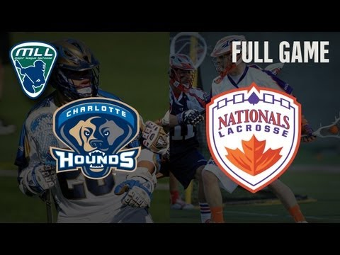 MLLs Youtube Game of the week: Charlotte Hounds at Hamilton Nationals_Lacrosse, NLL National Lacrosse League. NLL's best of the week
