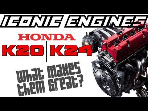 Honda K20 / K24 - What makes it GREAT? ICONIC ENGINES #11