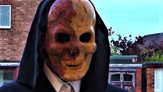 The Phantom comes out of retirement to do a little door-to-door card magic.If he knocks on your door, I'd advise not answering.Not for Children