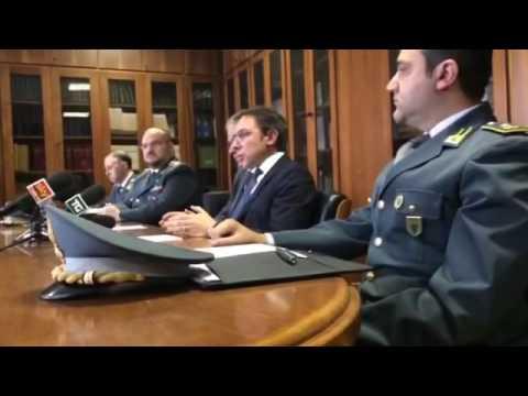 Conferenza Stampa della Guardia di Finanza