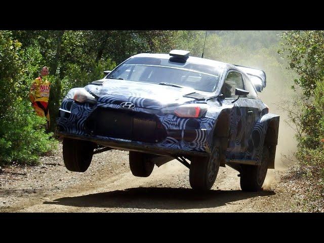 Hayden Paddon Full Attack Test | Hyundai i20 WRC 2017 by Jaume Soler