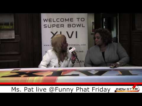 Live N Direct w/ Mz Fe: Ms Pat @ Funny Phat Fridays (Interview & Performance)