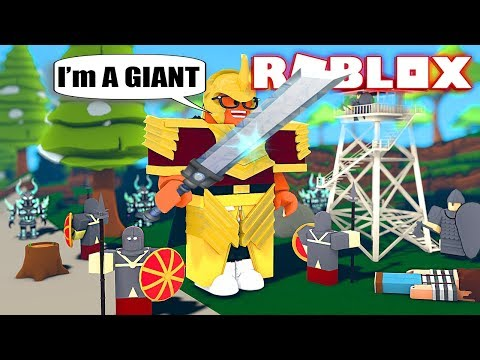 The BIGGEST PLAYER In Roblox GIANT SIMULATOR!!