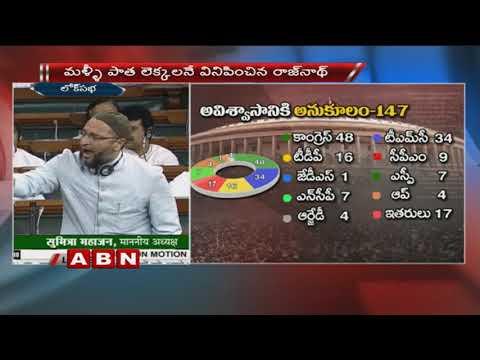 Video MP Asaduddin Owaisi Speech in Lok Sabha | No-Confidence Motion download in MP3, 3GP, MP4, WEBM, AVI, FLV January 2017