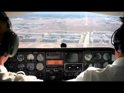 Extreme crosswind landing in Las Vegas