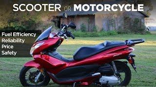 8. Why I Love My Scooter | Scooter vs. Motorcycle vs. Car