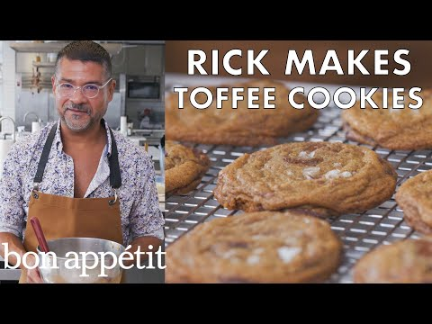 Rick Makes Chocolate Chip Toffee Cookies | From the Test Kitchen | Bon Appétit