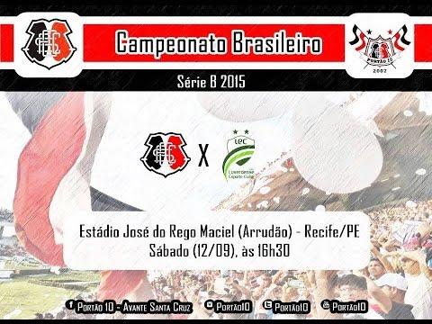 P10 - Santa Cruz 2 x 0 Luverdense 12/09/2015 - Portão 10 - Santa Cruz