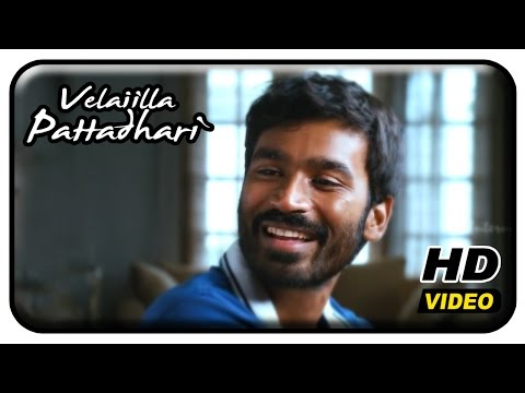 Velaiilla Pattadhari Tamil Movie | Full Comedy Scenes | Dhanush | Amala Paul | Vivek | Surabhi