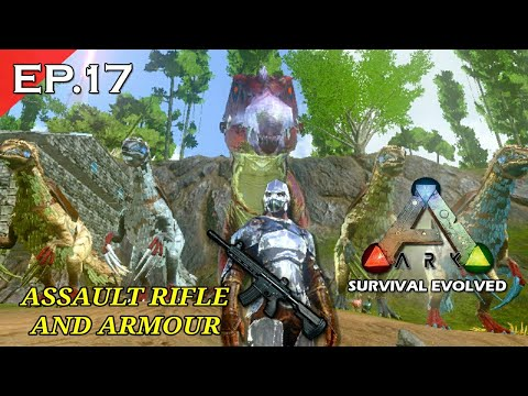 Making assault rifal and metal armour | Ark survival evolved mobile hindi episode 17