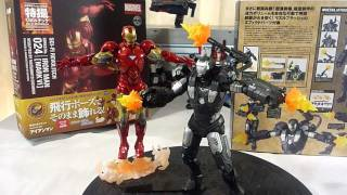 Revoltech Sci Fi 031 Iron Man [War Machine] Part 2