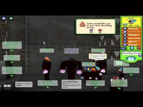 Toontown anger: People not looking at gags before inviting (READ DESCRIPTION PLEASE!)