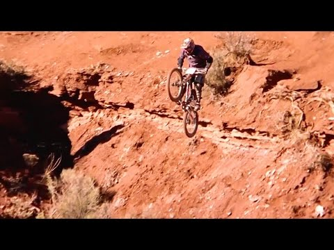 The Gnarliest Mountain Biker Ever: Josh Bender | Red Bull Rampage Ground Zero (видео)