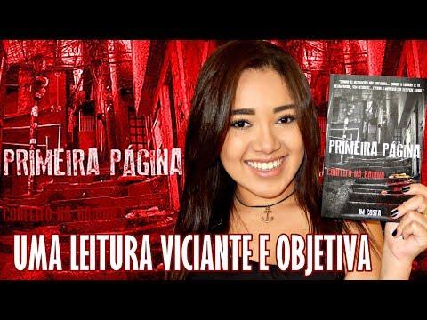 PRIMEIRA PÁGINA, de JM Costa | RESENHA | Magia Literária