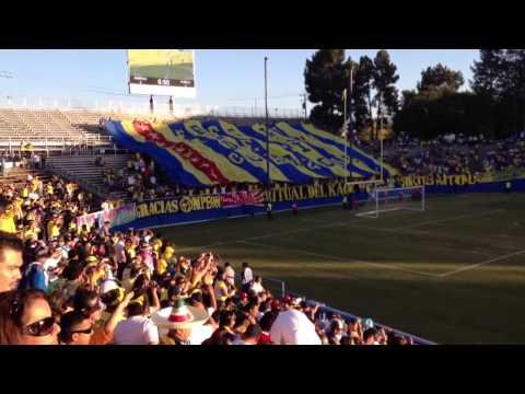 Los Rompe Canchas en San José, America vs Puebla 5-1 - Ritual Del Kaoz - América