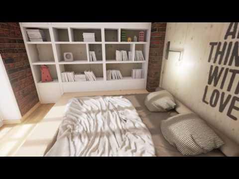 Интерактивная визуализация на движке Unreal Engine 4