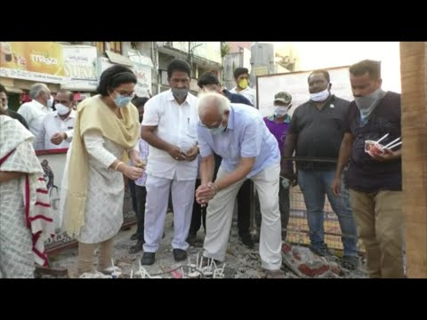 Ashok Gajapathi Condalance at 3Lamps Idol in Vizianagaram,Vizagvision....