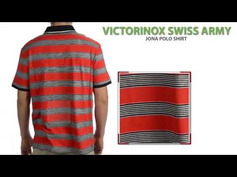 Victorinox Swiss Army Jona Polo Shirt - Tailored Fit, Short Sleeve (For Men)