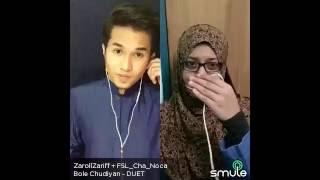 Bole Chudiyan(Film Kabhi Kushi Kabhi Gham) - Zaroll Zariff & Hidayah Halim [Smule Malaysia] Video