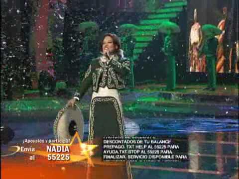 Inocente Pobre Amiga cantada por Nadia en el Gran Desafio