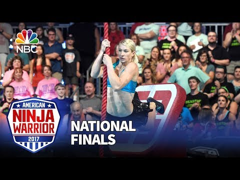 Jessie Graff at the Las Vegas National Finals: Stage 1 - American Ninja Warrior 2017