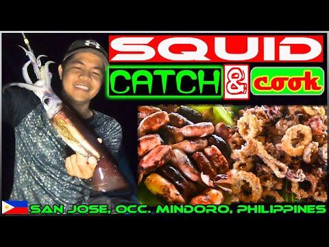 EP120-Part1 - Overnight Squid Fishing | Catch 'n Cook | Occ. Mindoro