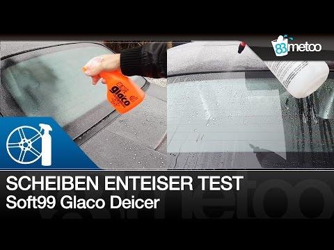 Scheiben enteisen mit Soft99 Glaco Deicer Spray | Scheibenenteiser Test | Autoscheiben enteisen