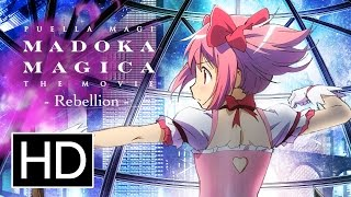 Nonton Puella Magi Madoka Magica The Movie  Rebellion  Official Trailer Film Subtitle Indonesia Streaming Movie Download