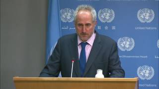 Daily Press Briefing: Middle East, Colombia, Lesotho, Kazakhstan, Appointment, Security Council, Iraq, Central African Republic,...