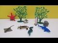 Let's Learn The Inhabitants of the Ocean World Fun Play Set Video Episode for Preschool Kids