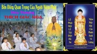 Bốn Điểm Quan Trọng Của Người Niệm Phật - Hòa Thượng Thích Giác Hóa