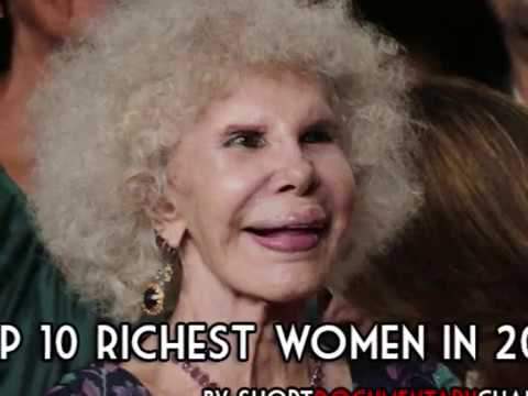 Top 10 Richest Women in The World in 2017