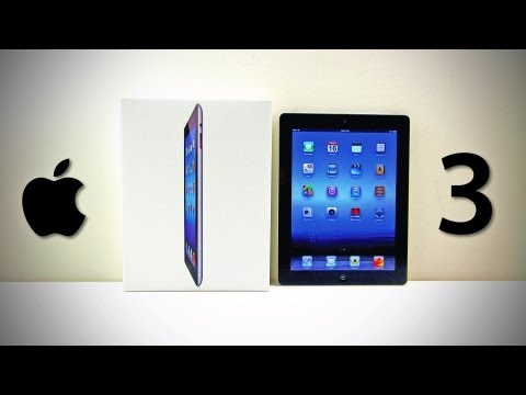 the new ipad 3 - Check out Today's best deals on gadgets HERE - http://amzn.to/J8Ta2Z REMEMBER TO LIKE & FAVORITE FRIEND ME ON FB http://facebook.com/lewis.hilsenteger & on T...