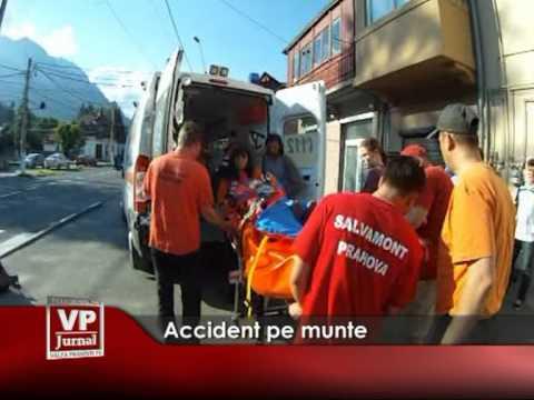 Accident pe munte
