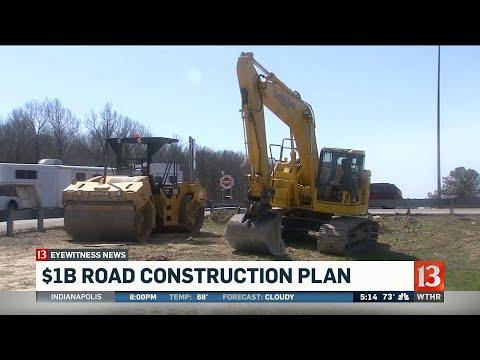 Road construction plan worth $1 billion