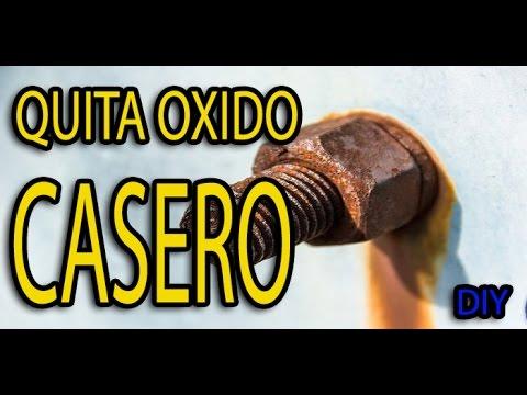 QUITA OXIDO CASERO - BY SANTYGUGU