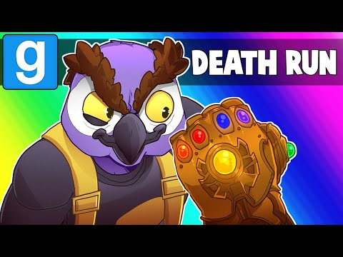 Garrys Mod - Gmod Death Run Funny Moments - Filming Marvel Avengers 4!