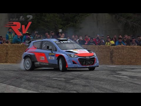 Rally Legend 2017 - Jumps - Show - Mistakes